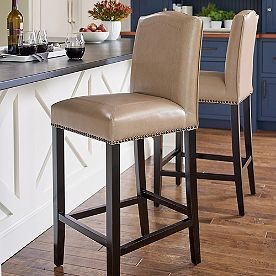 Carson Bar Counter Stool Counter Stools Leather Counter