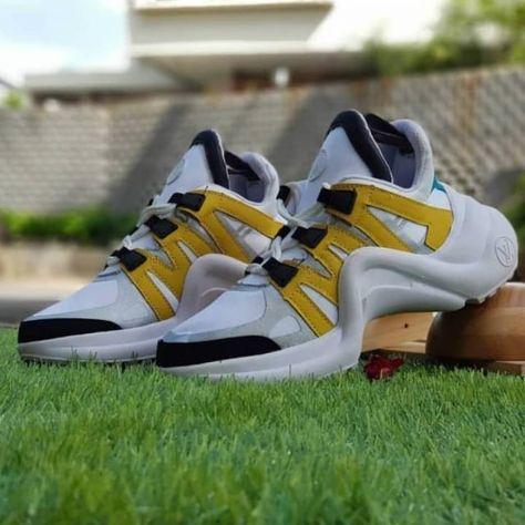 Sepatu Artis Louis Vuitton Grade Original Sneaker Cocok Buat