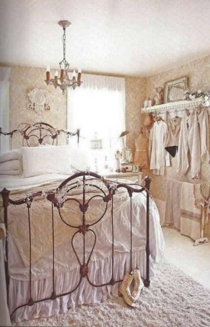 34 Ideas For Bedroom Shabby Chic Decor Beds Bedroom Country
