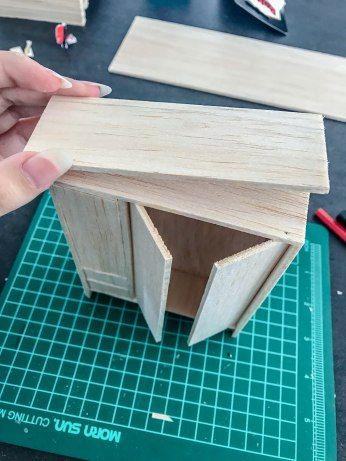 Diy Geldgeschenk Mini Schlafzimmer Puppenhaus Miniaturen