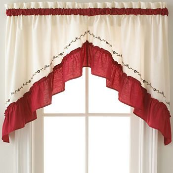 Kitchen Curtains Bathroom Curtains Jcpenney With Images