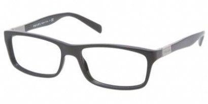 84c98755f9c Prada Eyeglasses VPS 07C BLACK JAV-101 VPS07C « Impulse Clothes ...
