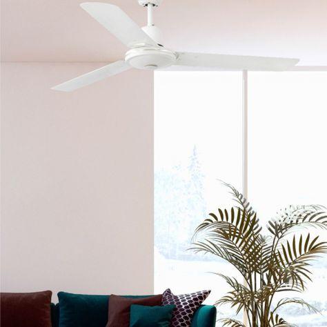 Ansehnlicher Faro Deckenventilator Eco Indus In Weiss Deckenventilator Wohnzimmer Inspiration Und Ventilator