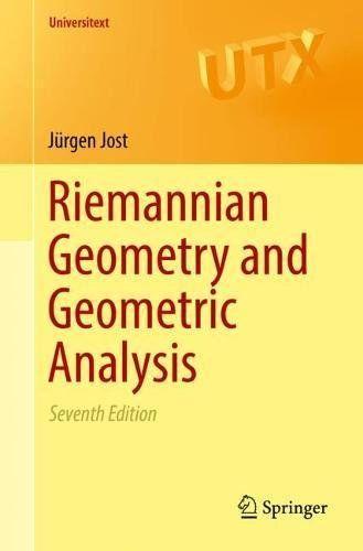 Riemannian Geometry And Geometric Analysis Universitext Pdf Math Books Algebra Equations
