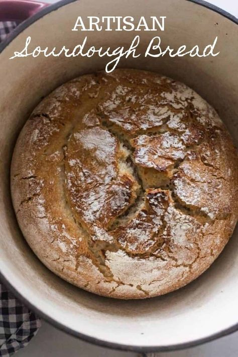 Sourdough Recipes, Sourdough Bread, Bread Recipes, Starter Recipes, Whole Wheat Sourdough, Fermented Foods, Artisan Bread, Kitchen Recipes, Real Food Recipes