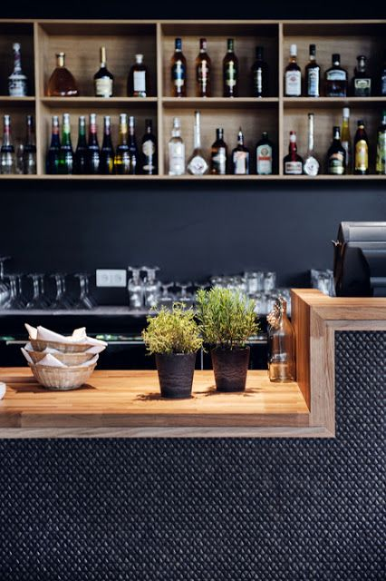 Brick And Tin Reclaimed Wood Bar Top And Hex Tile Bar Front. | DINE |  Pinterest | Reclaimed Wood Bars, Wood Bars And Bricks