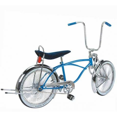 """New 20/"""" Lowrider Bike Bicycle Chrome Gold with 72 spokes Bent Fork"""