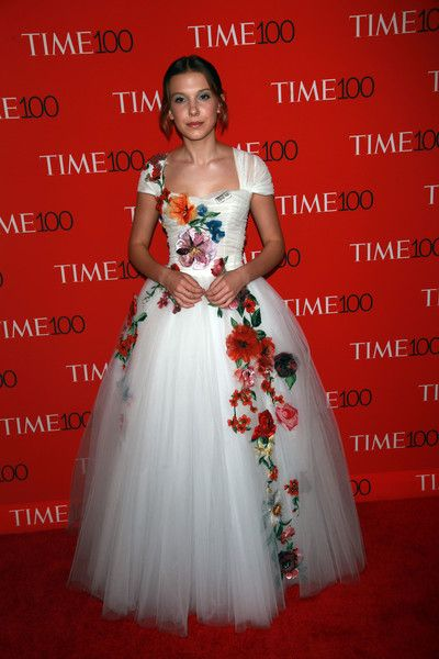 Mille Bobby Brown attends the Time 100 Gala in NYC.