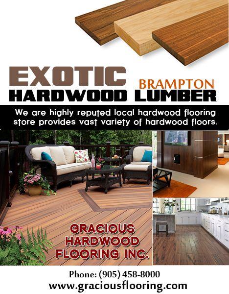 Pin On Exotic Hardwood Flooring Brampton