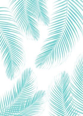 Palms Gold Cali Vibes 4 Poster By Anita S Bella S Art Displate Iphone Background Wallpaper Teal Framed Art Cute Blue Wallpaper