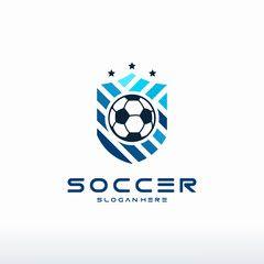 Football Logo Set Vector Psd Set Logo Football Vector Logo Set Football Logo Design Football Logo
