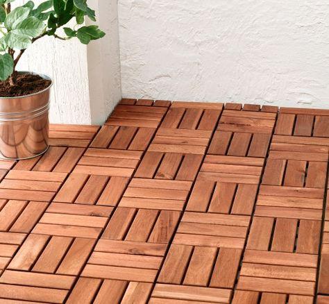 Bodenbelag Für Balkon Und Terrasse Wpc Holz Oder Stein Balcony