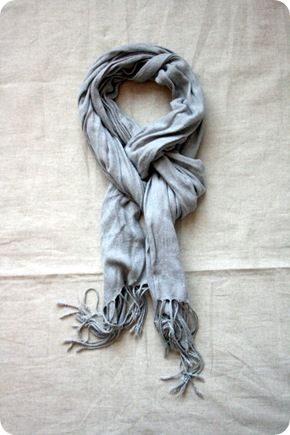 scarf tying