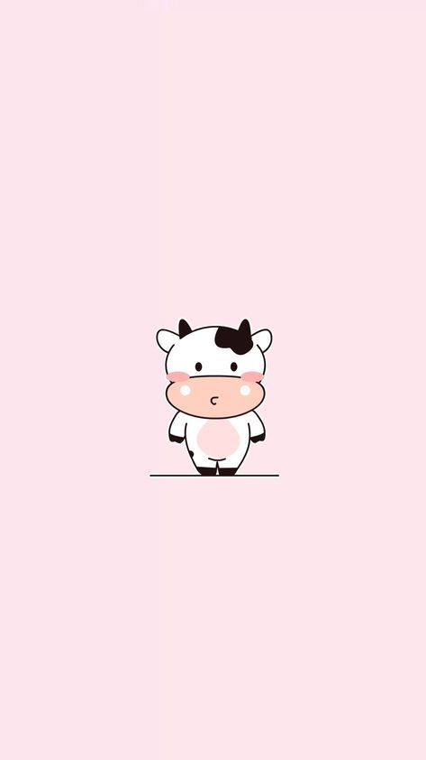 Wallpaper Tumblr Cute Kawaii 23 Ideas Cow Wallpaper Cute Wallpapers Cartoon Wallpaper
