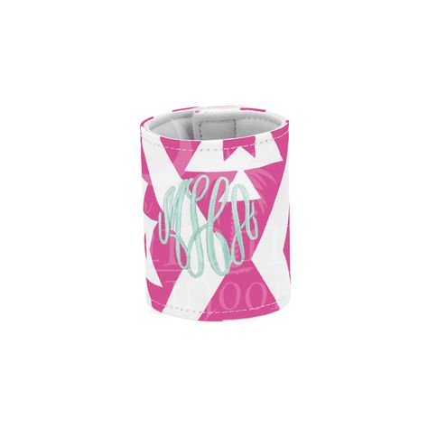 This Patterned Coozie is perfect for all of your sodas or even will wrap around a bottle.  We also have matching accessory bag, beach bag, and cooler bag. You can place your order online at www.underthecarolinamoon.com #UTCM #UnderTheCarolinaMoon #Beach #Coozie