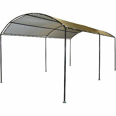 Advertisement Ebay Shelterlogic 18x10 Foot Monarc Series All Purpose Canopy Sandstone Open Box Canopy Carport Canopy Metal Canopy