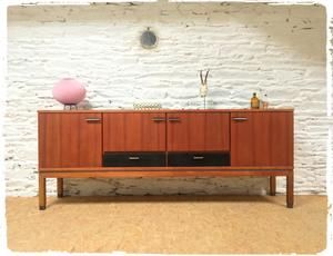 Grande Enfilade Francaise Vintage En Teck Edition Srm Decoration Maison Diy Meuble Mobilier