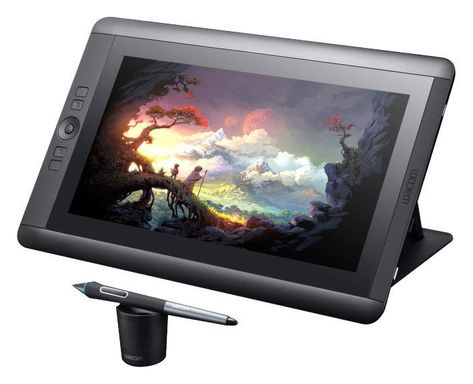 Wacom - Cintiq 13HD Interactive Pen Display - Black (eBay