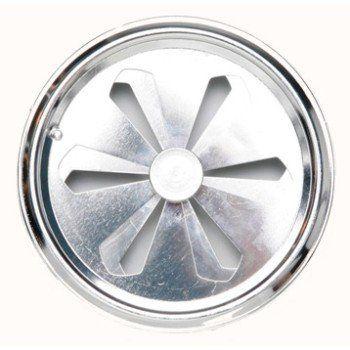 Grille D Aeration Aluminium Chrome Diam 12 Cm Ferreteria Y Prensas Grille Aeration Et Trafic Amenage