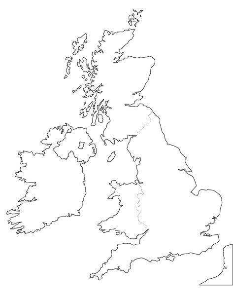 Printable Map Of Uk Counties.Blank Map Uk Counties On Printable Blank Map Of Scotland