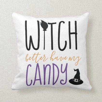 Halloween 2020 Funny Witches Funny, Witch Halloween Decoration Throw Pillow | Zazzle.in