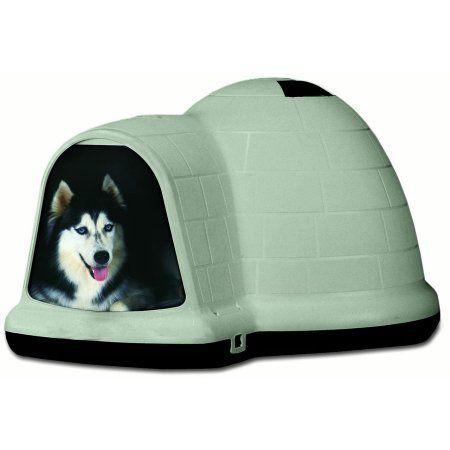 Petmate Indigo Igloo Dog House X Large 51 Inchx39 Inchx30 Inch