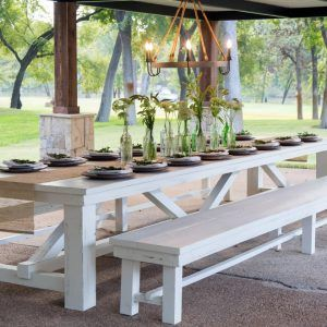 Farmhouse Outdoor Dining Table Outdoor Dining Table Outdoor Dining Farmhouse Table Plans