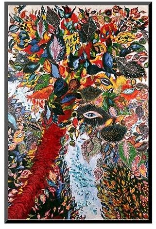 Art Com The Tree Of Paradise C 1929 By Seraphine Louis Mounted