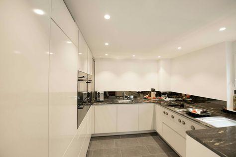 139 best Home Küche images on Pinterest Kitchen contemporary - wandverkleidung küche glas