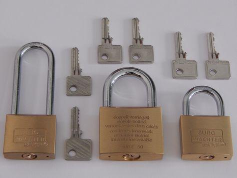 Vorhangschloß Set Magno E 400 gleichschließend 6 Schlüssel...http://schluessel-isendahl.de/