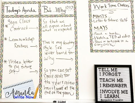 How I Teach Reading Writing Workshop In 54 Minutes Writing