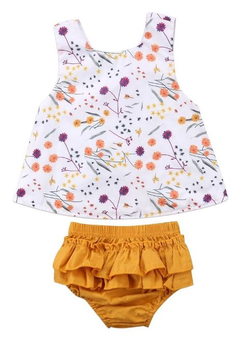 Fineser Toddler Baby Girls Summer Strap Harem Bodysuit Romper Jumpsuit One Piece Pants