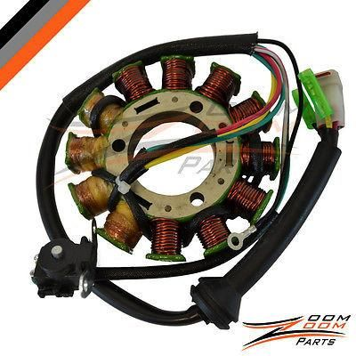 ZOOM ZOOM PARTS Stator FITS YAMAHA RAPTOR 660 YFM660 2001-2005 Generator NEW FREE FEDEX 2 DAY SHIPPING
