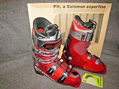 Advertisement Ebay Salomon Falcon 10 Downhill Ski Boots Men S Size 27 5 Flex 110 Red New In Box In 2020 Ski Boots Downhill Skiing Boots Men