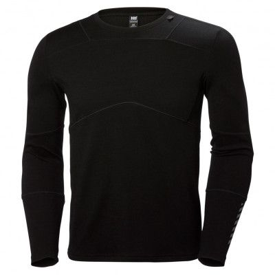 Hellly Hansen Men S Lifa Merino Crew Helly Hansen Black Tee Workwear Brands