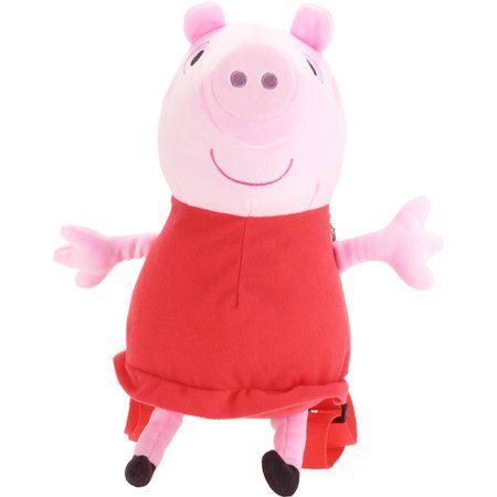 Nouveau Peppa Pig 4 Family Soft Plush Toy Pack In Display Box
