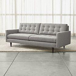 Petrie Midcentury Sofa In 2019 Living Room Sofa Apartment Sofa