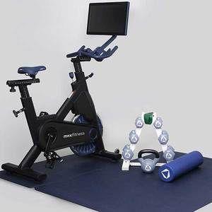The Myx Plus Biking Workout Total Body Workout Mat Exercises