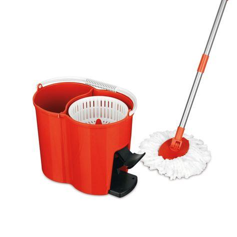 Cleanmaxx Power Wischmopp Rot Rot Danisches Bettenlager Und