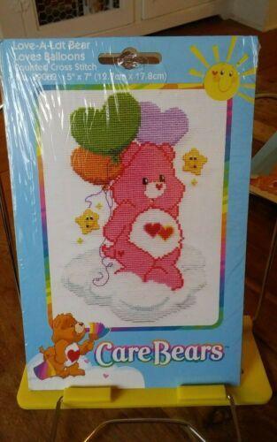 Counted Cross Stitch Kit ~ Christmas Care Bears Grumpy Bear Bah Humbug #39064