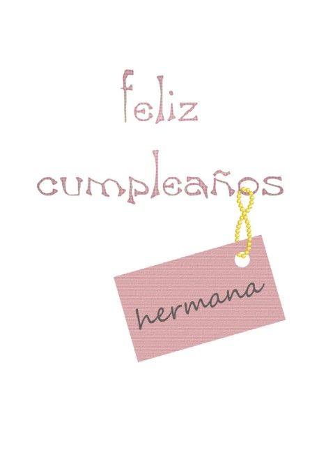 Feliz Cumpleanos Hermana Happy Birthday Sister In Spanish Card Ad Affiliate Hermana Happy Birthday Sister Sister Birthday Happy Birthday Wishes Cards
