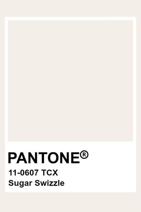 Pantone Sugar Swizzle  Colour In 2019  Pantone Colour Palettes ...
