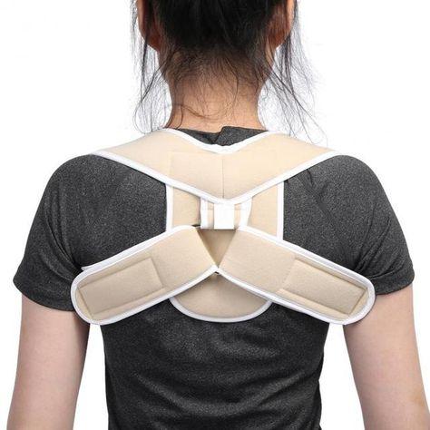 0936998562a Back Belt Adjustable Posture Corrector Children Adult Corset Spine Support  Poor Shoulder - Vietees Shop Online
