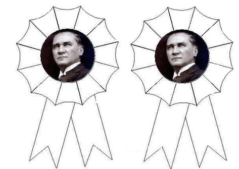Ataturk Rozeti Rozet Sanat Etkinlikleri Soyut Resimler