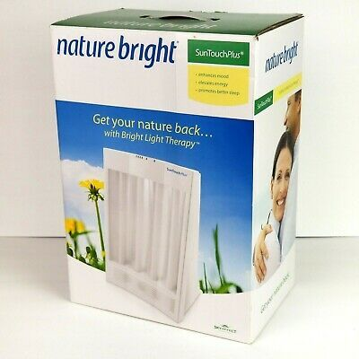 Advertisement Nature Light Sun Touch Plus 10 000 Lux Bright Light Therapy Enhance Mood Energy Light Therapy Therapy Mood Enhancers
