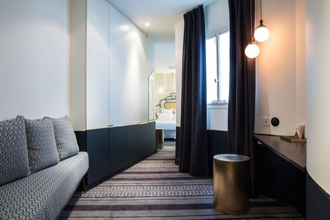The Panache Hotel, in the center of Paris' arty Montmartre neighborhood, recently joined the city's hearty hotel scene. As the second hotel owned by Adrien Gloaguen -- he opened Le Paradis in 2012 -- it proves, once again, just how accurate his strong insights into the hospitality industry really are through collaborating, once again, with interior designer, Dorothee Meilichzon, for a display of inventive results.