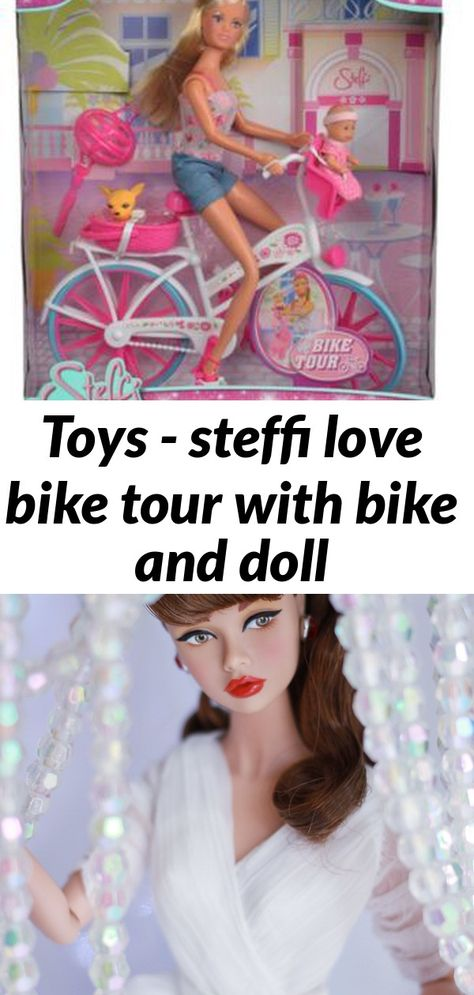 Toys - steffi love bike tour with bike and doll