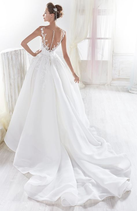 Abiti Da Sposa Eleganti 2018.Wedding Dress Nicole Collection Nicole Niab18045 2018 Abiti Da