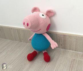 Peppa Pig La Cerdita Amigurumi - Patrón Gratis en Español ... | 247x290