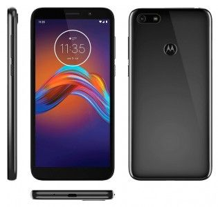 Rend Présumés Motorola Moto E6 Surface De Jeu